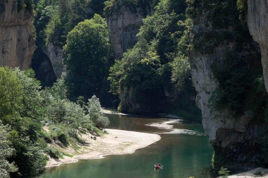 Gorges du Tarn & Causse Méjean mit Packeseln - Wanderung