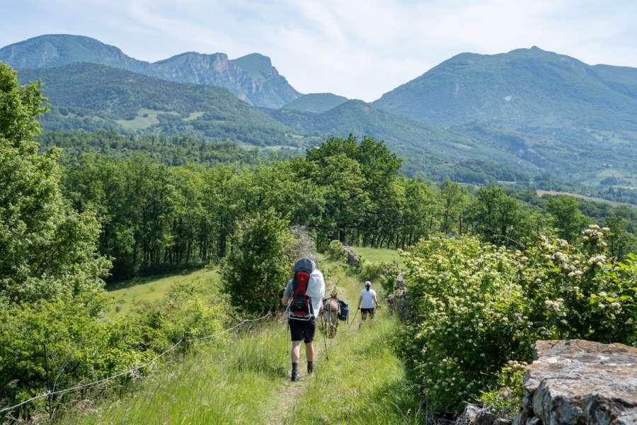 Familienfreundliche Eselwanderung in der Drôme - Unterkunft