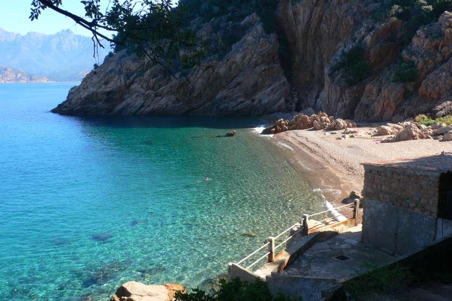 Rundreise Korsika - Badebucht