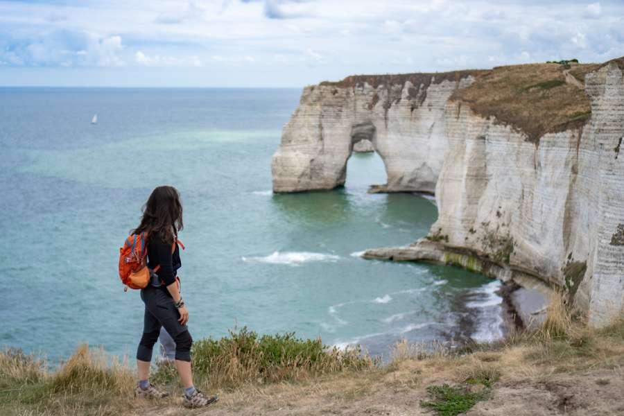 Wanderreise Normandie Alabasterküste - Wanderung
