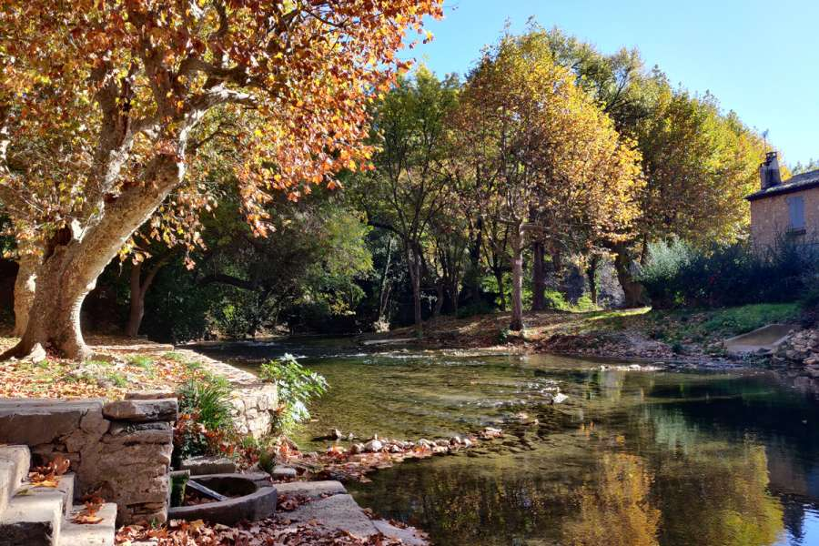 Grüne Provence - Wanderung