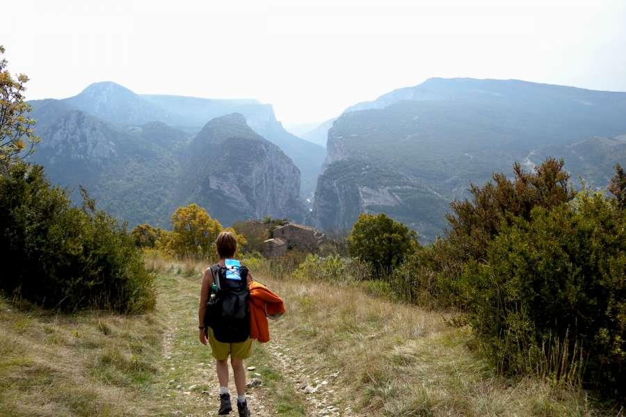 Rundwanderung in der Verdon-Schlucht - Wanderung